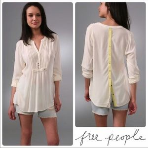 Free People Snap Out Of It Tunic, Size S